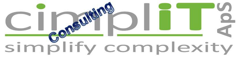 cimpliT Consulting ApS - Logo